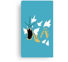 Gyradose Minimal (Pokemon) Canvas Print