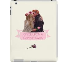 Once Upon A Captain Swan iPad Case/Skin