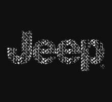 Jeep tires 3 white Kids Tee