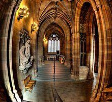 John Rylands Library Manchester by inkedsandra