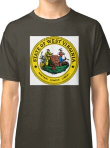 West Virginia state seal Classic T-Shirt