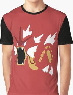 Gyradose Minimal (Pokemon) Graphic T-Shirt