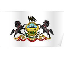 Pennsylvania state coat of arms Poster