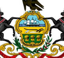 Pennsylvania state coat of arms Sticker