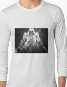 Assassin`s Creed original painting on canvas Long Sleeve T-Shirt