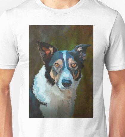 Welsh border collie Unisex T-Shirt