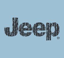 Jeep tires 1 black Kids Tee