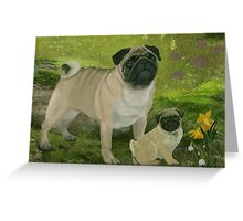 Exploring with Mama Greeting Card