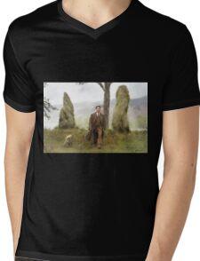 Despair Mens V-Neck T-Shirt