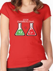 Funny Science Women's Fitted Scoop T-Shirt