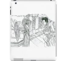 supernatural doctor who iPad Case/Skin