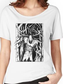 Leshen (Black) Women's Relaxed Fit T-Shirt