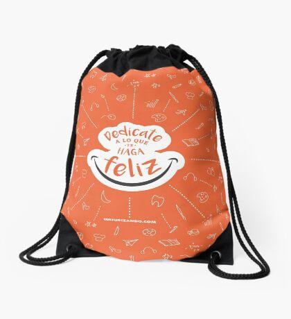 CZN - Dedícate a lo que te haga FELIZ Drawstring Bag