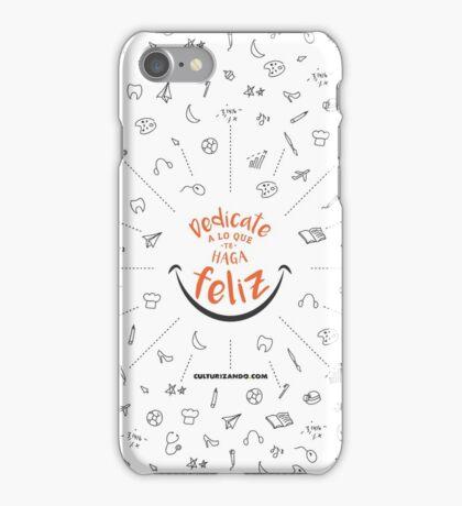 CZN - Dedícate a lo que te haga FELIZ iPhone Case/Skin