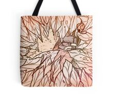 Sleepy Russet Leaves Tote Bag