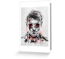 The Man Without Fear Greeting Card