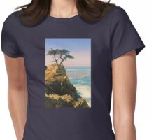 The Lone Cypress Womens Fitted T-Shirt