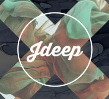 JDeep 'X' Ink  Sticker