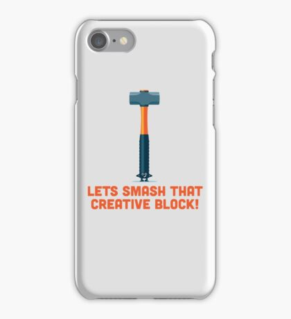 Character Building - Sledgehammer iPhone Case/Skin
