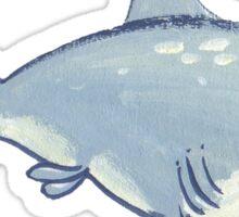 shrimpy shark Sticker