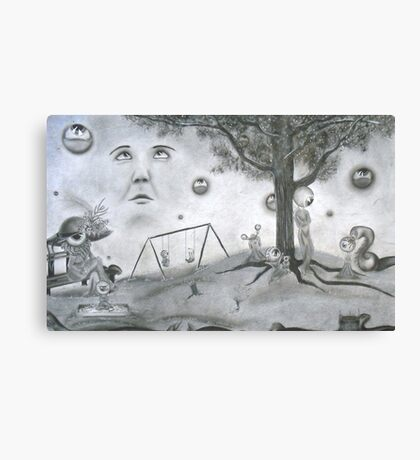 Day at the park Canvas Print
