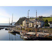 Charlestown Harbour.... Cornwall UK Photographic Print