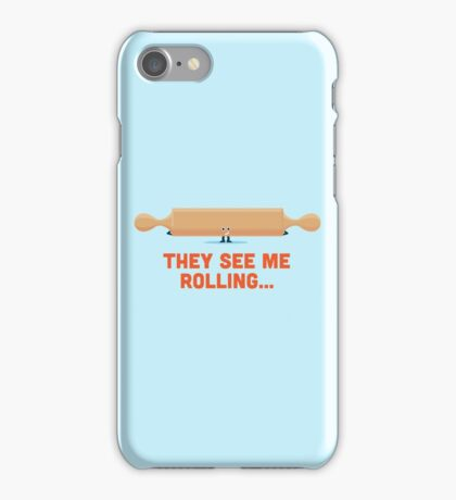 Character Building - Rolling iPhone Case/Skin