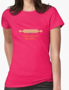 Character Building - Rolling Womens Fitted T-Shirt