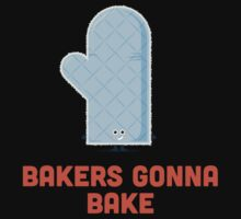 Character Building - Bakers gonna bake Kids Tee