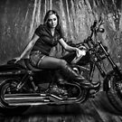 Biker Babe by PhotoWorks