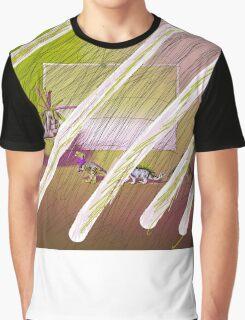 dinosaur fucked-up Graphic T-Shirt