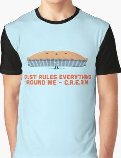 Character Building - Crust rules everything around me… Graphic T-Shirt