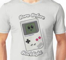 Born Before Backlight. Unisex T-Shirt