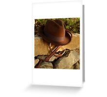 Where is Indiana? Greeting Card
