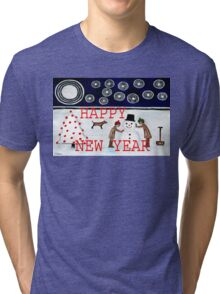 HAPPY NEW YEAR 20 Tri-blend T-Shirt