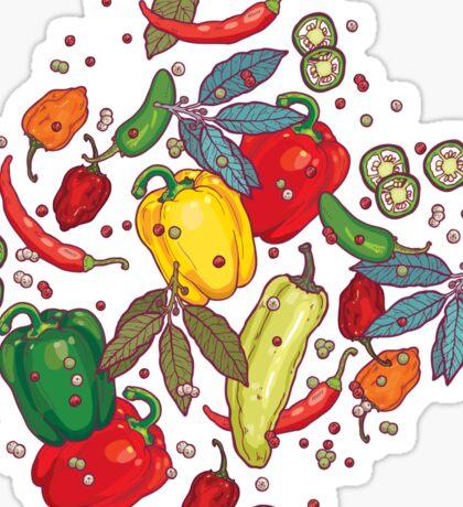 Hot & spicy! Sticker