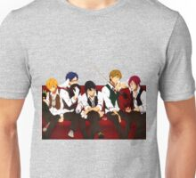Free - Haruka Nanase, Makoto Tachibana, Nagisa Hazuki, Rei Ryūgazaki, Rin Matsuoka Unisex T-Shirt