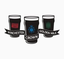 The Winchester, The Crown & The Golden Mile - Variant Kids Tee