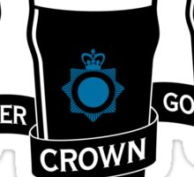 The Winchester, The Crown & The Golden Mile - Variant Sticker