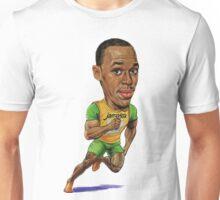 Usain Bolt Running Drawing  Unisex T-Shirt