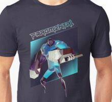 FRAGMENTAL BLUE CHARACTER BY RUFFIAN GAMES Unisex T-Shirt