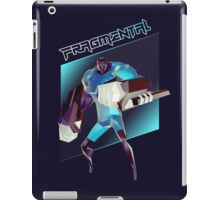 FRAGMENTAL BLUE CHARACTER BY RUFFIAN GAMES iPad Case/Skin