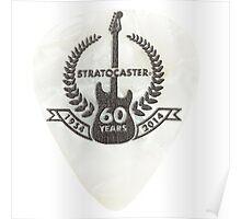 Fender stratocaster pick Poster
