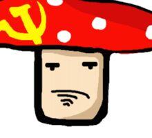 The Communist Magic Mushroom Drawing Sticker