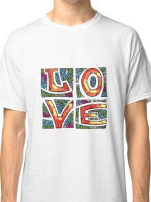 Love Alphabet Classic T-Shirt