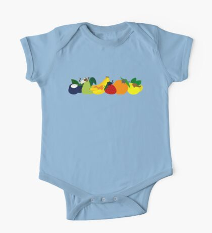 The Fruit Cats One Piece - Short Sleeve