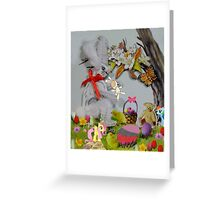 You Silly Wabbit!!! Greeting Card