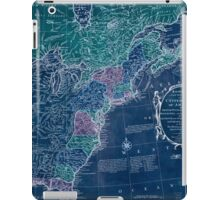 American Revolutionary War Era Maps 1750-1786 350 Bowles's new pocket map of the United States of America the British possessions of Canada Nova Scotia and Inverted iPad Case/Skin