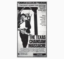 The Texas Chainsaw Massacre One Piece - Long Sleeve