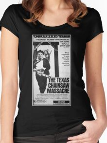 The Texas Chainsaw Massacre Women's Fitted Scoop T-Shirt